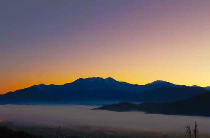 雲海の八海山