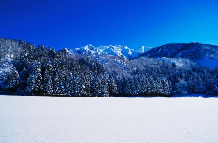2011冬の八海山