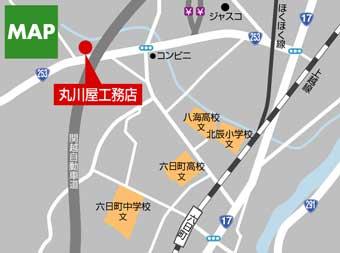 丸川屋地図
